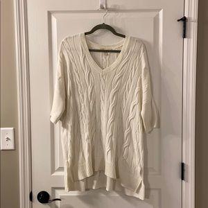 Michael Kors Cream Sweater Size S/M